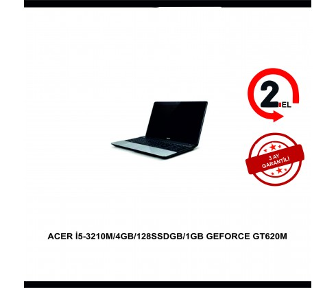 ACER I5-3210M/4GB/128SSDGB/1GB GEFORCE GT620M